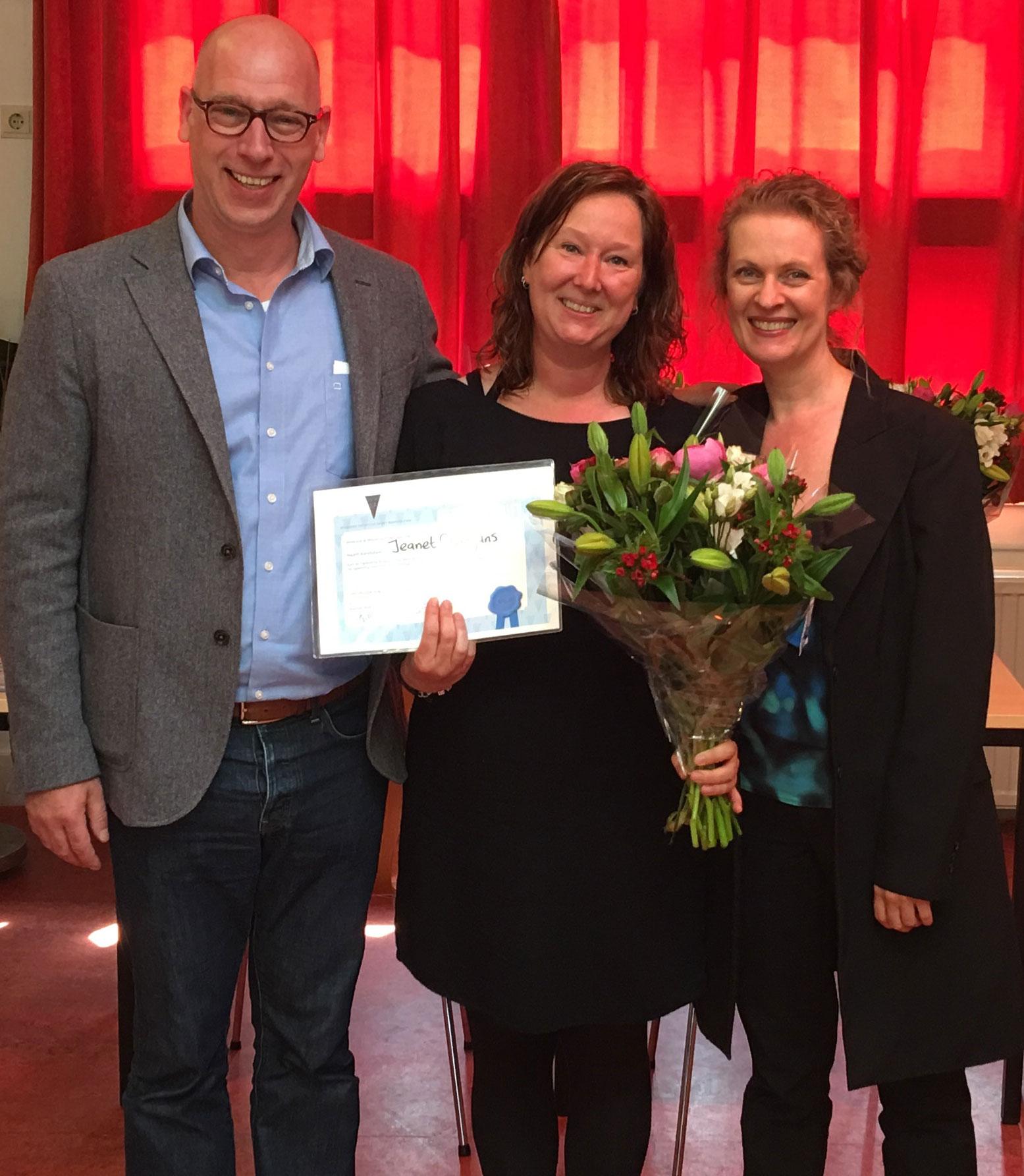 WWLA - Jeanet Grootjans met Loes Wouterson en Andre Witbreuk