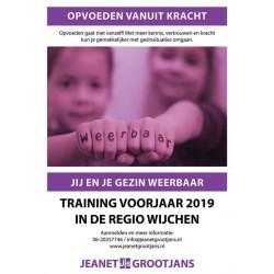 Opvoeden vanuit Kracht - voorjaar 2019 Regio Wijchen
