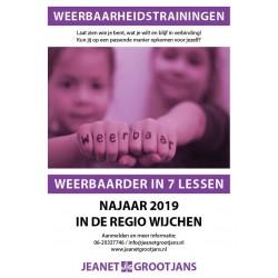 Training Weerbaarheid 4 t/m 7 jaar - Najaar 2019 Regio Wijchen